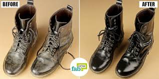 how to clean leather boots step by