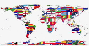 World Map Country Wall Decal Flat Drawing Of Earth Transparent Png 1594x750 Free Download On Nicepng