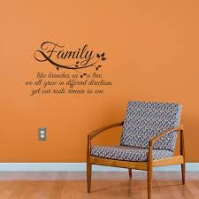 Family Roots Quote Wall Decal Shop Decals From Dana Decals