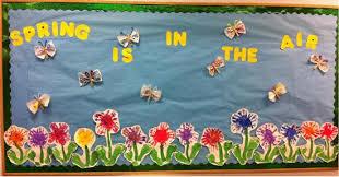 4 fun spring bulletin board ideas and
