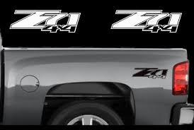 Product 2 Chevy Z71 4x4 2007 2013 Decals Silverado Gmc Sierra Truck Vinyl Sticker Set Gmc Trucks Sierra Gmc Trucks Gmc