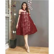 Hingga tak jarang menciptakan sebuah karya yang mampu membuat kekaguman tersendiri bagi para wanita. Dress Natal Pesta Brokat Peplum Po Shopee Indonesia