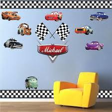 Cars Wall Decals Pixar Disney Cars Wall Graphis Stickers Sports Wall Decals Kids Wall Decals Kids Room Wall Murals