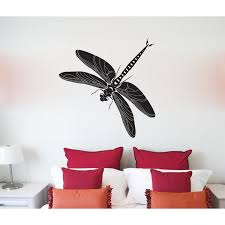 August Grove Dragonfly Vinyl Words Wall Decal Wayfair