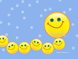 caterpillar smiley desktop wallpaper