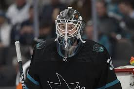 Sharks goalie Aaron Dell's improved play could make him trade ...