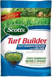 scotts turf builder halts crabgrass