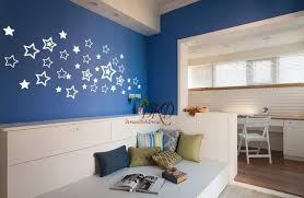 Stars Wall Decals For Kids Room Star Wall Stickers Pattern Etsy