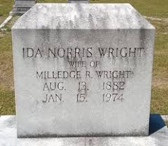 Ida Norris Wright (1882-1974) - Find A Grave Memorial