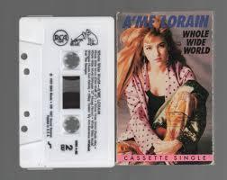 Vintage Cassette Tape : Cassette Single - A'Me Lorain - Whole Wide ...