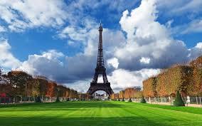 تحميل خلفيات برج إيفل 4k الخريف الفرنسية المعالم المروج