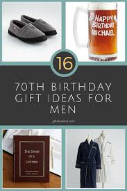 gifts for 70th birthday man