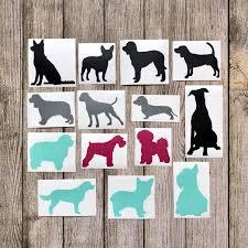 Dog Vinyl Decal Jane
