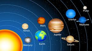 nine planets the solar system