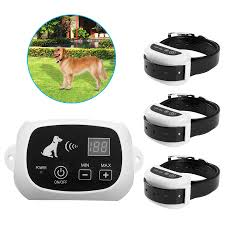Retail Wireless Electric Dog Pet Fence Containment System Transmitter Collar Waterproof Drop Shipping 27g9 Agility Equipment Aliexpress
