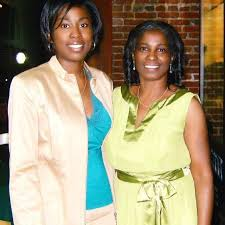 Myra Thompson and her daughter Denise