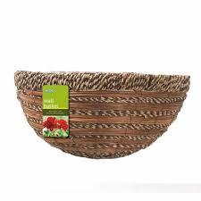 gardman wall basket 40cm 16 natural