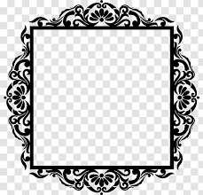 Picture Frames Baroque Photography Sticker Wall Decal Frame Transparent Png