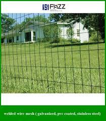 3 X 50 Ft Garden Fencing Galvanized Vinyl Welded Wire Mesh Fence Metal Roll New