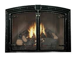 stronghold arch fireplace doors are