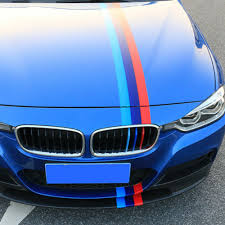 5ft 1 5m Car M Colored Door Body Decorative Stripe Sticker Decal Vinyl For Bmw Car Truck Graphics Decals Auto Parts And Vehicles Tamerindsa Com Ar