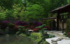 japanese zen garden wallpaper