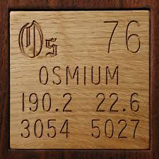 element osmium in the periodic