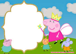 23 Best Of Peppa Pig Birthday Invitation Template Collection With
