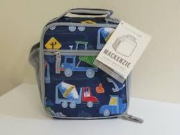 dump truck clic lunch bag