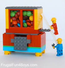 lego candy dispenser fun family crafts