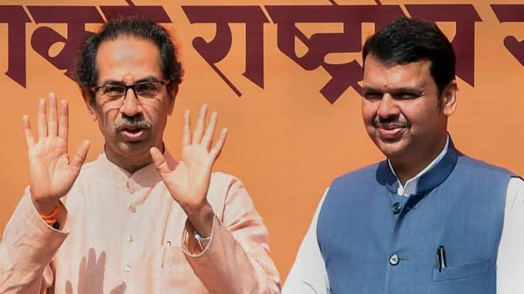 Image result for maharashtra bjp shiv sena congress ncp""