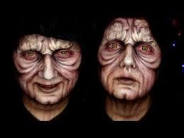darth sidious star wars makeup tutorial