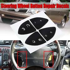 Car Button Repair Sticker Steering Wheel Button Repair Decals Stickers Kit For Mercedes For Benz W220 S430 S500 S600 Cl500 Cl600 Car Stickers Aliexpress