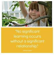 relationships are the heart of early childhood education early