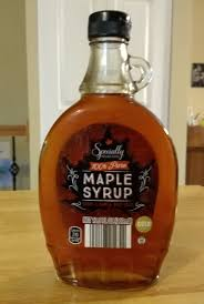 100 pure maple syrup