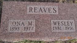 Wesley Reaves (1881-1956) - Find A Grave Memorial