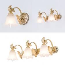 lights opal glass vanity lighting