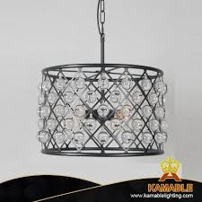 round iron frame pendant lighting