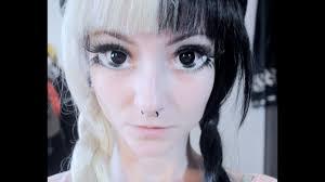 anime eyes makeup tutorial olhos