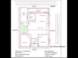 east north facing house plan