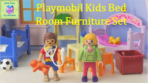 Playmobil 5306 Children S Room Furniture Set Unboxing Little Story Toy Wonders Youtube