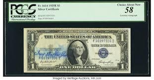 Ivy Baker Priest Courtesy Autograph Fr. 1614 $1 1935E Silver | Lot #83266 |  Heritage Auctions