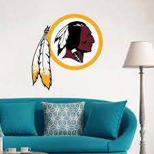 Washington Redskins Nfl Logo Decoration Floor Wall Decal Sticker Nursery For Home Krafmatics