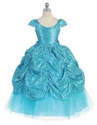 taffeta embroidered cinderella dress