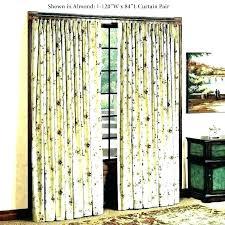 blackout patio door curtains