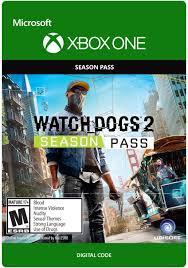 Amazon.com: Watch Dogs 2 Season Pass - Xbox One Digital Code ...