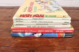 three disney coffee table books