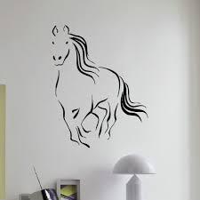 Shop Flying Horse Wall Art Sticker Decal Overstock 11180104