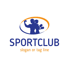 fitness and sport club logo template for 5