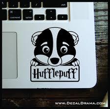 Hufflepuff Badger Chibi Harry Potter Inspired Fan Art Vinyl Car Lapto Decal Drama